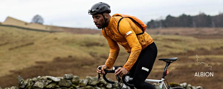Albion's Ultralight Insulated Jacket + Backpack