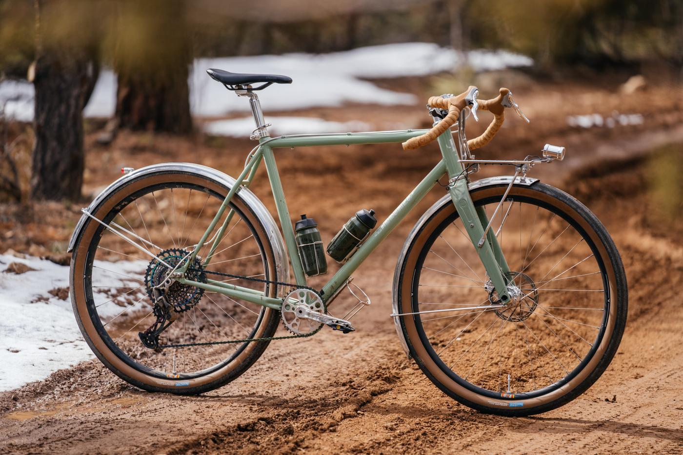 A Baphomet Bicycles Light Tourer: the Shreddy Rando
