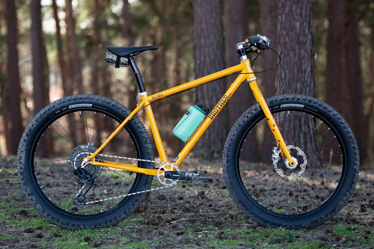 The 2021 Brother Cycles Big Bro Goes Boost and Receives a Yellow Paintjob