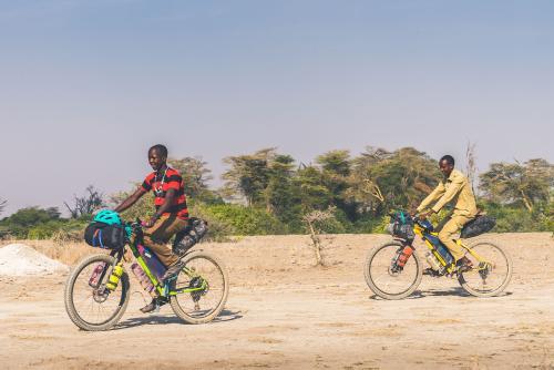 Maasai boys