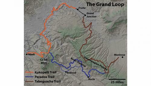 Grand Loop Map