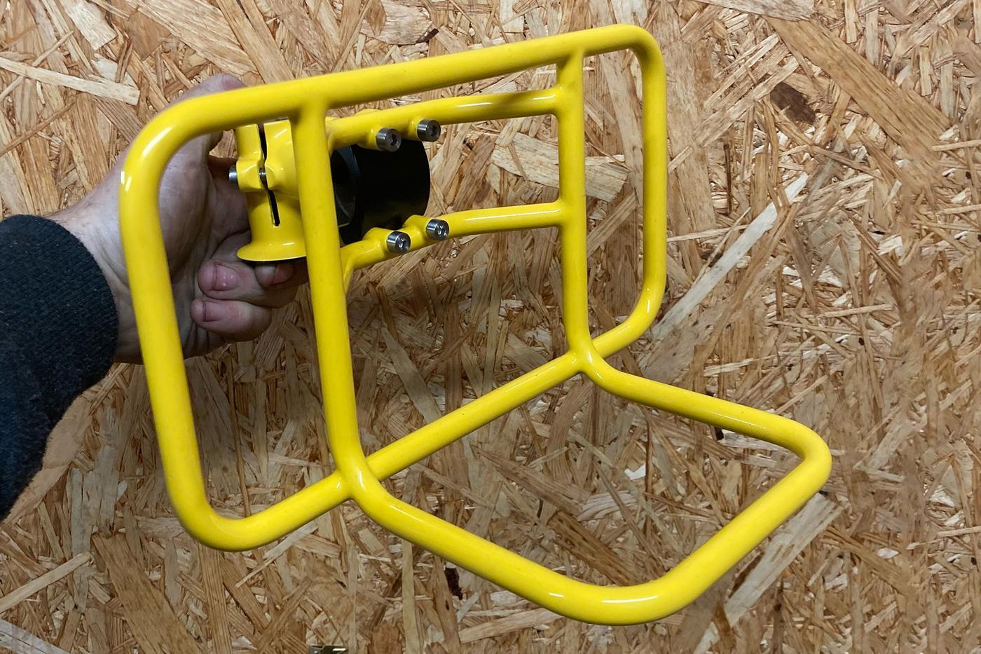 August Bicycles: Stem Rack Prototype