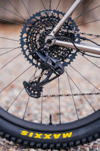 Kevin's Bearclaw Beaux Jaxon Titanium Touring Bike