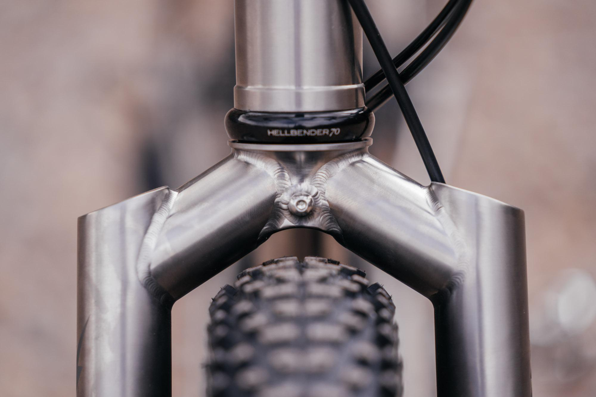 Kevin's Bearclaw Beaux Jaxon Titanium Touring Bike-8