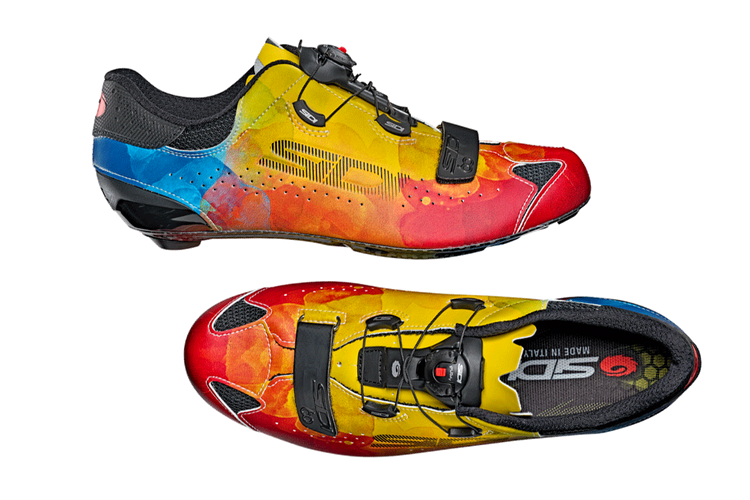 Sidi's Limited Edition Sixty Multicolor Shoes Are a Throwback to the 90s