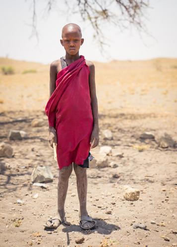 Maasai child Warrior