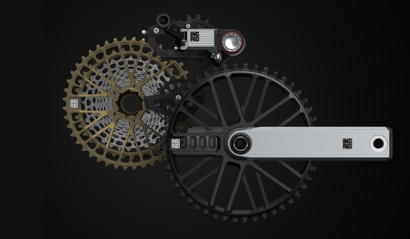 Ingrid Components Announce Made in Italy 1x Drivetrain