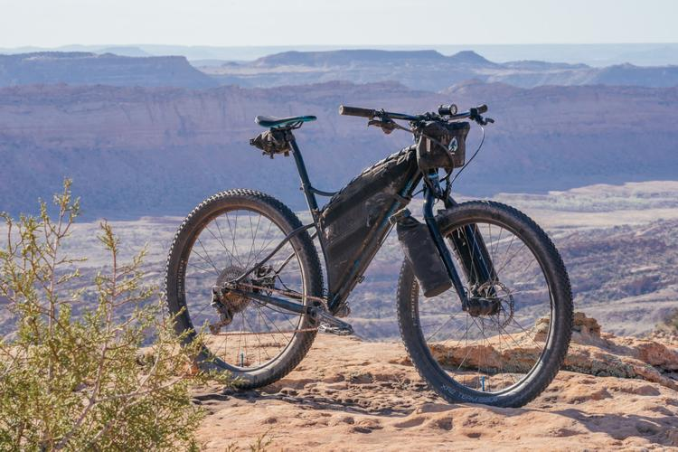 Kyle's Sklar Touring Fat Bike in 29+ Mode