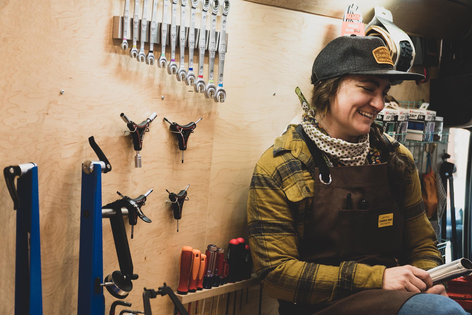 Chariot Bike Mobile Repair Shop