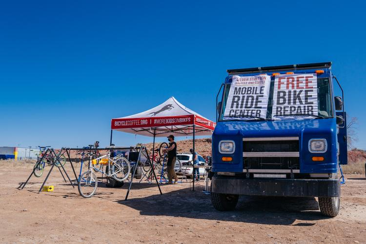 Resourcefulness and a Community Endeavor: Silver Stallion Bicycle and Coffee Works in Gallup, NM