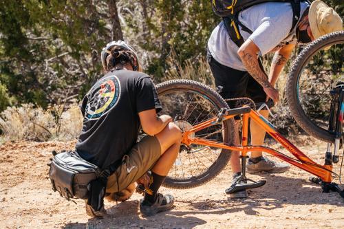 On trail repair