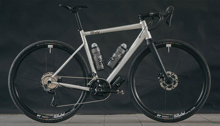 8Bar Mitte V3 is an Affordable Frame that Converts from Gravel to Road and Back