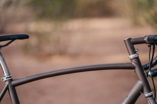 Adam Sklar's Titanium Gravel Bike