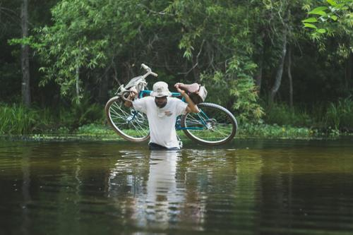 Readers' Rides: Tin's Crust Bikes Canti Lightning Bolt in Central Florida