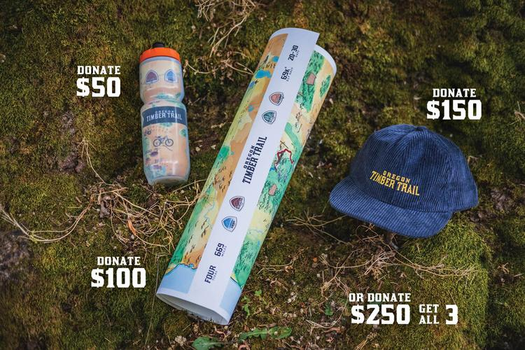 Donate to the Oregon Timber Trail and Get Some Swag!