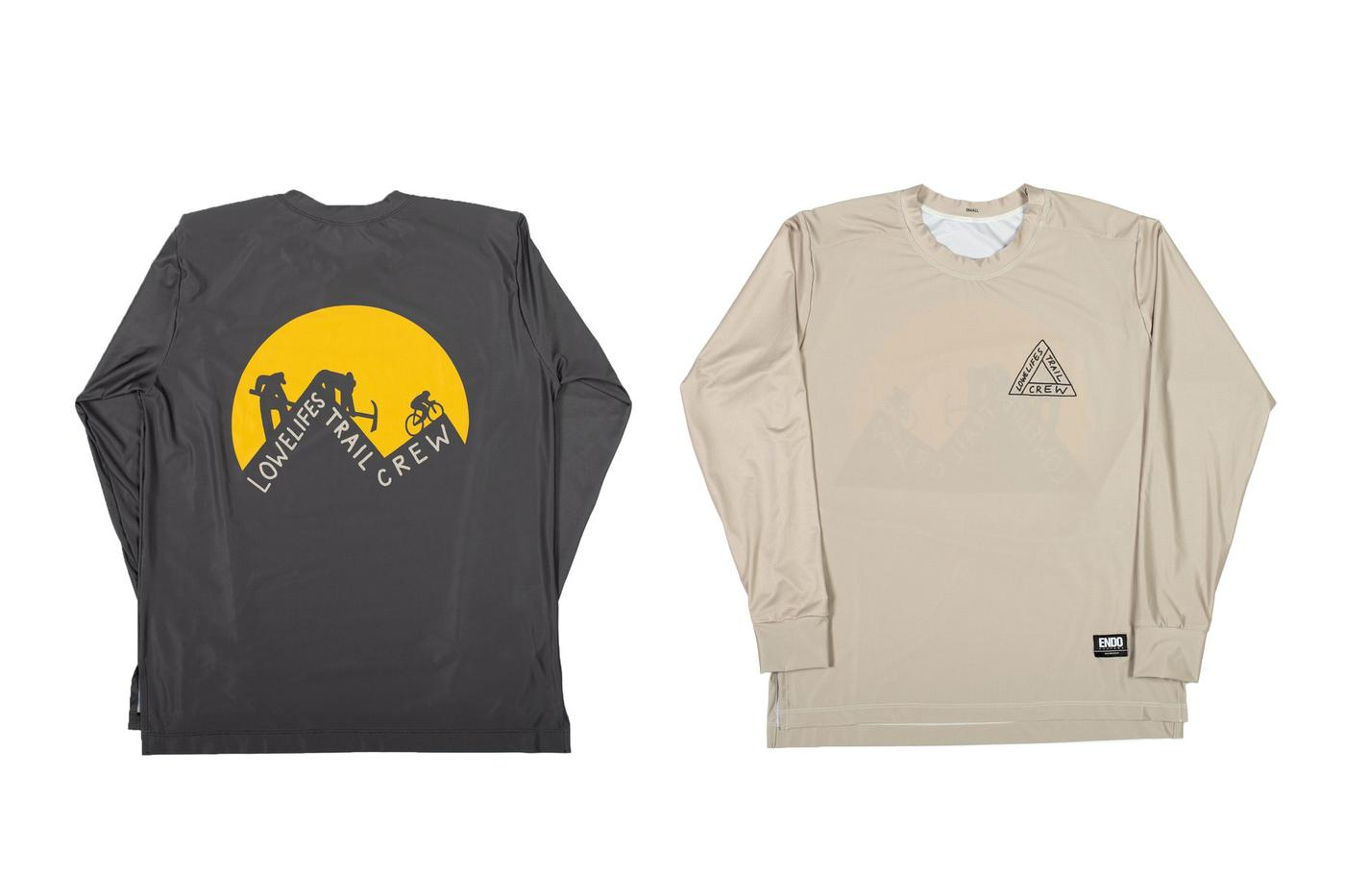 Lowelifes Respectable Citizens' Club: Trail Work Tech Tees