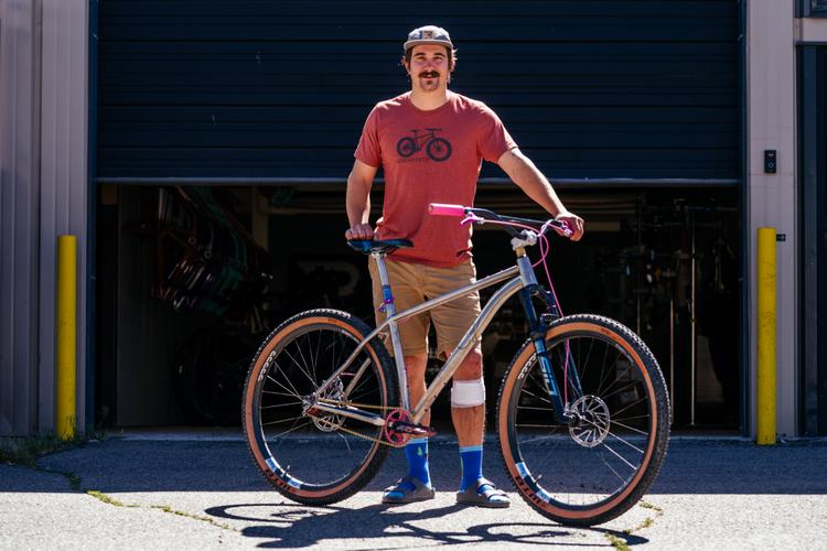 Matt's Why Cycles El Jefe Singlespeed 29er with Paul Components 30th Anniversary Bits