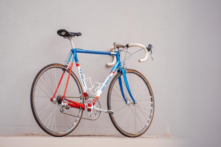 From the Pro's Closet Museum: Norm Alvis' 1992 Team Motorola MXL Eddy Merckx with Dura Ace 7400