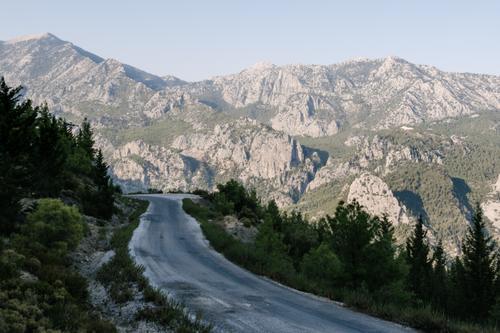 Classic Taurus mountain terrain