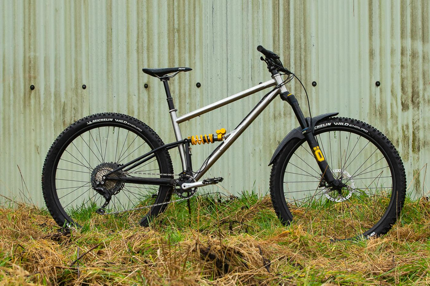 Starling Cycles Introduce the Stainless (Front Triangle) Murmur 29er