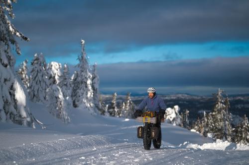 Winter bikepacking in Norway