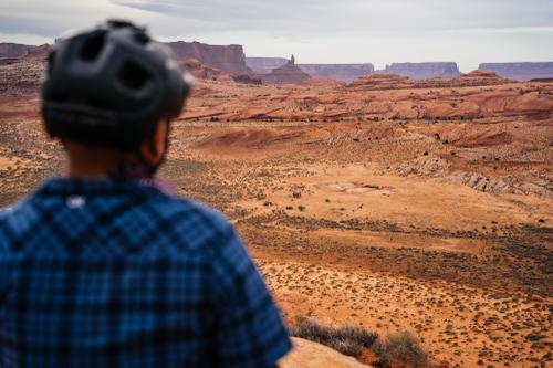 Overlooking Adakai's ranch