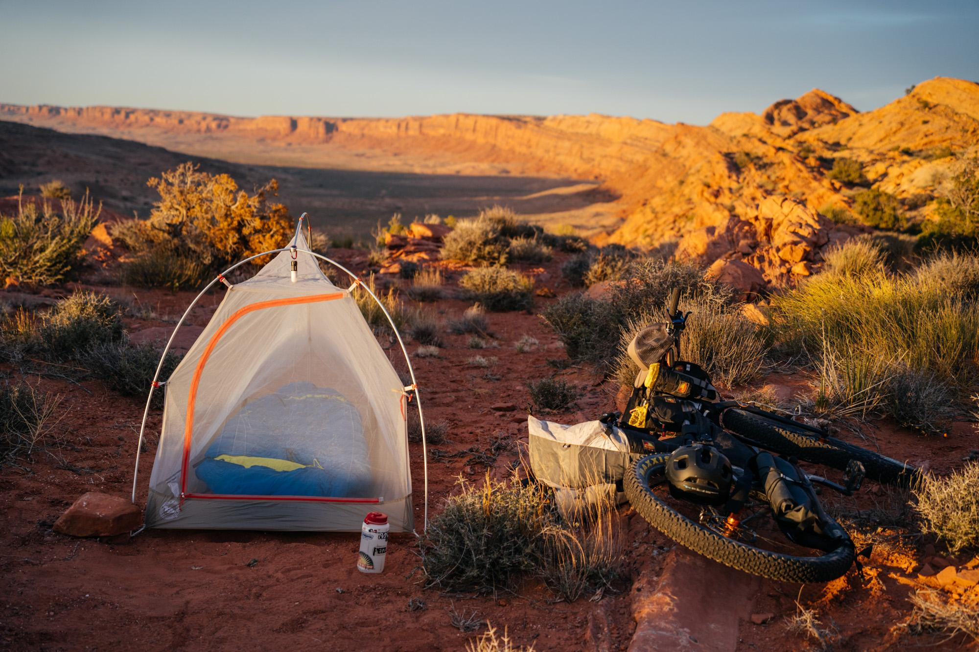 Jon's new tent
