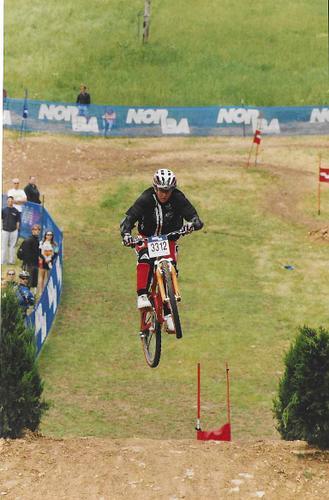 NORBA National slalom race in 1998 or 1999.