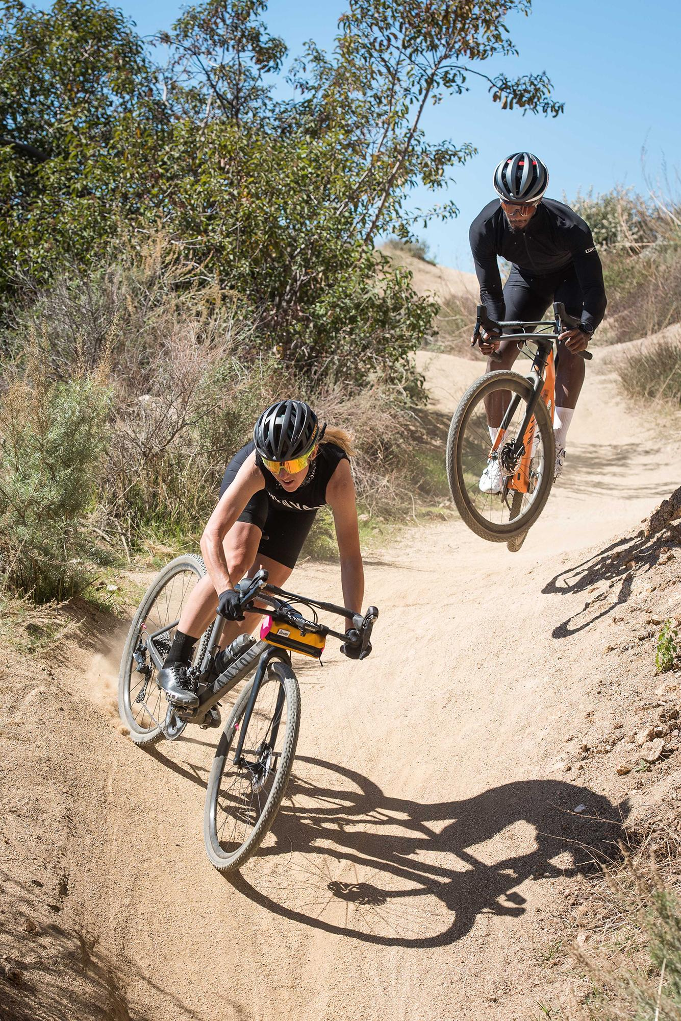 Rallying down dusty trails in Los Angeles.