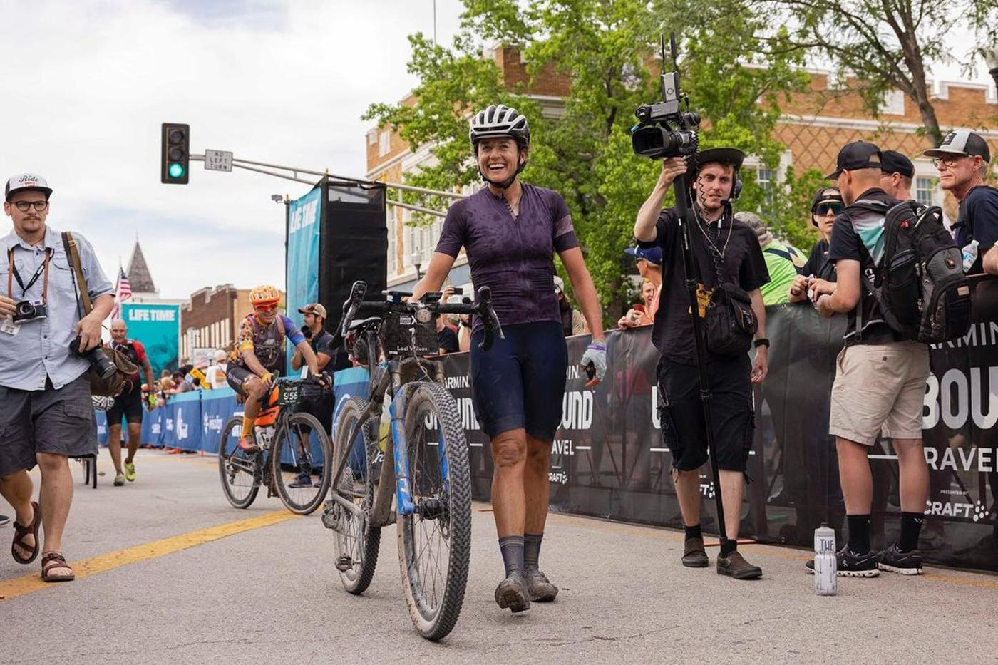 Congrats to Lael Wilcox for Winning Unbound Gravel XL!