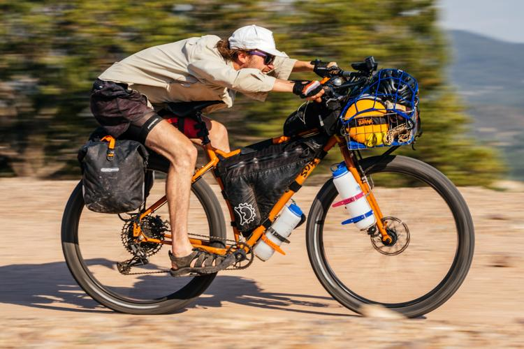 Bike Touring is About the Oasis: Beau and His Surly ECR are en Route to Mexico City