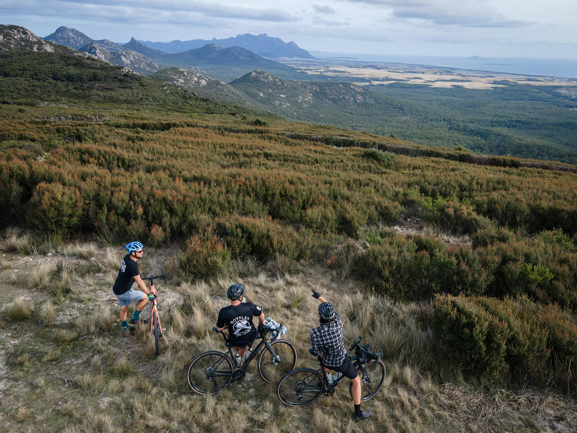 On Island: Riding Gravel on Flinders Island in the Bass Straight