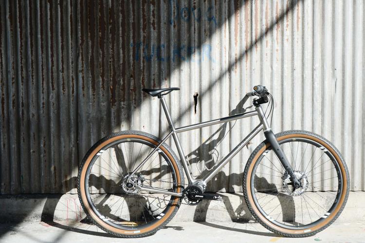 A Prova Cycles Titanium Pinion Rigid MTB