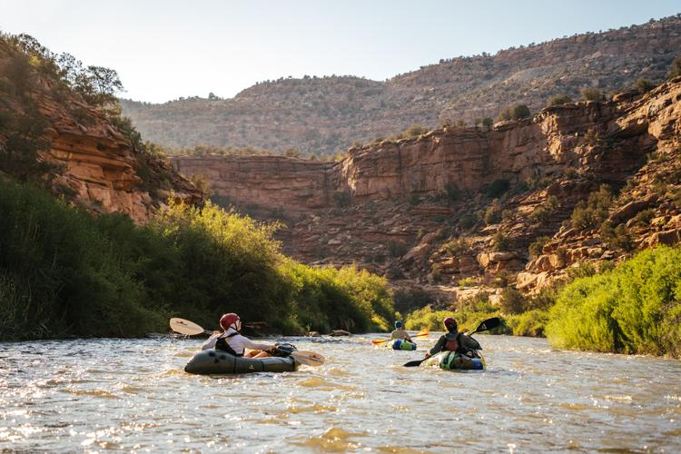 Our Solstice Packraft Paddle on the San Miguel River with Four Corners Guides