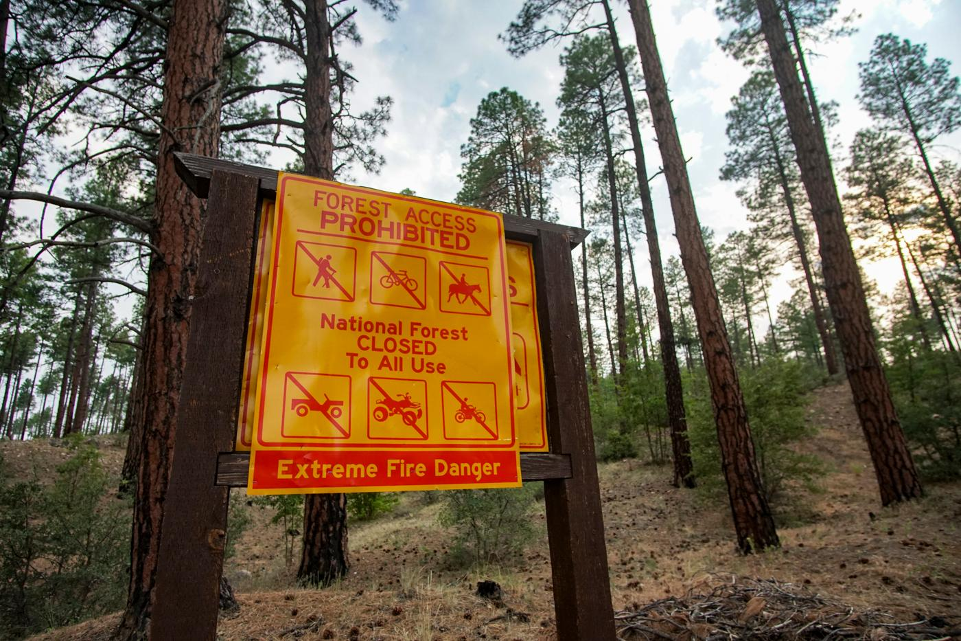 Arizona National Forests Close Due to Extreme Fire Danger: Yet another example of why Congress needs to act now on climate change