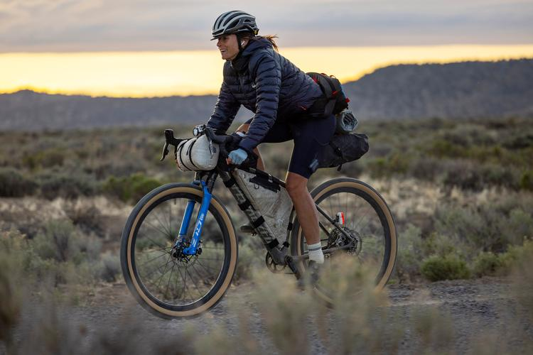 Don't Regret the Time: Lael Wilcox's FKT Attempt on the Oregon Outback