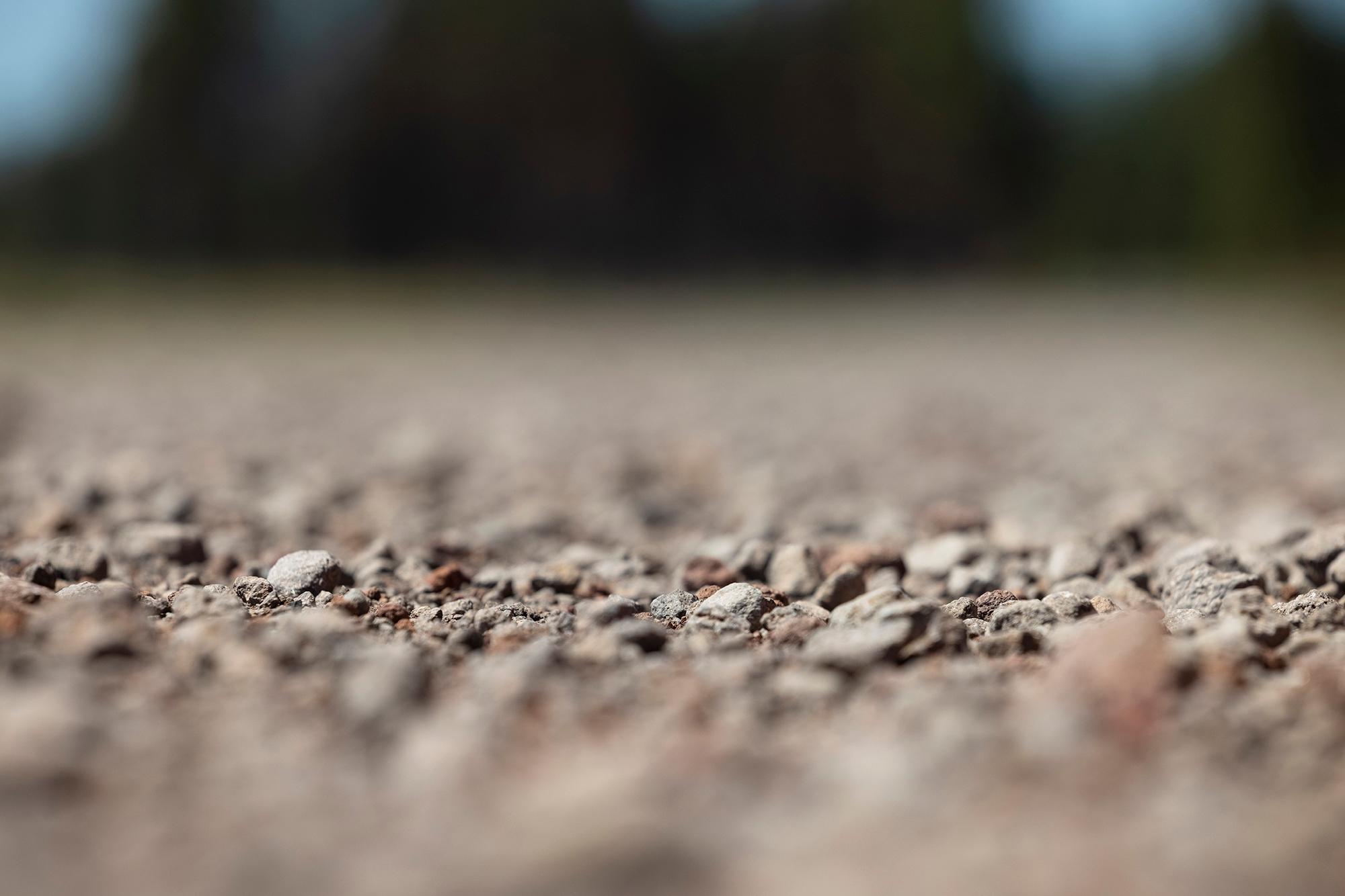 Loose gravel. (Rugile Kaladyte)