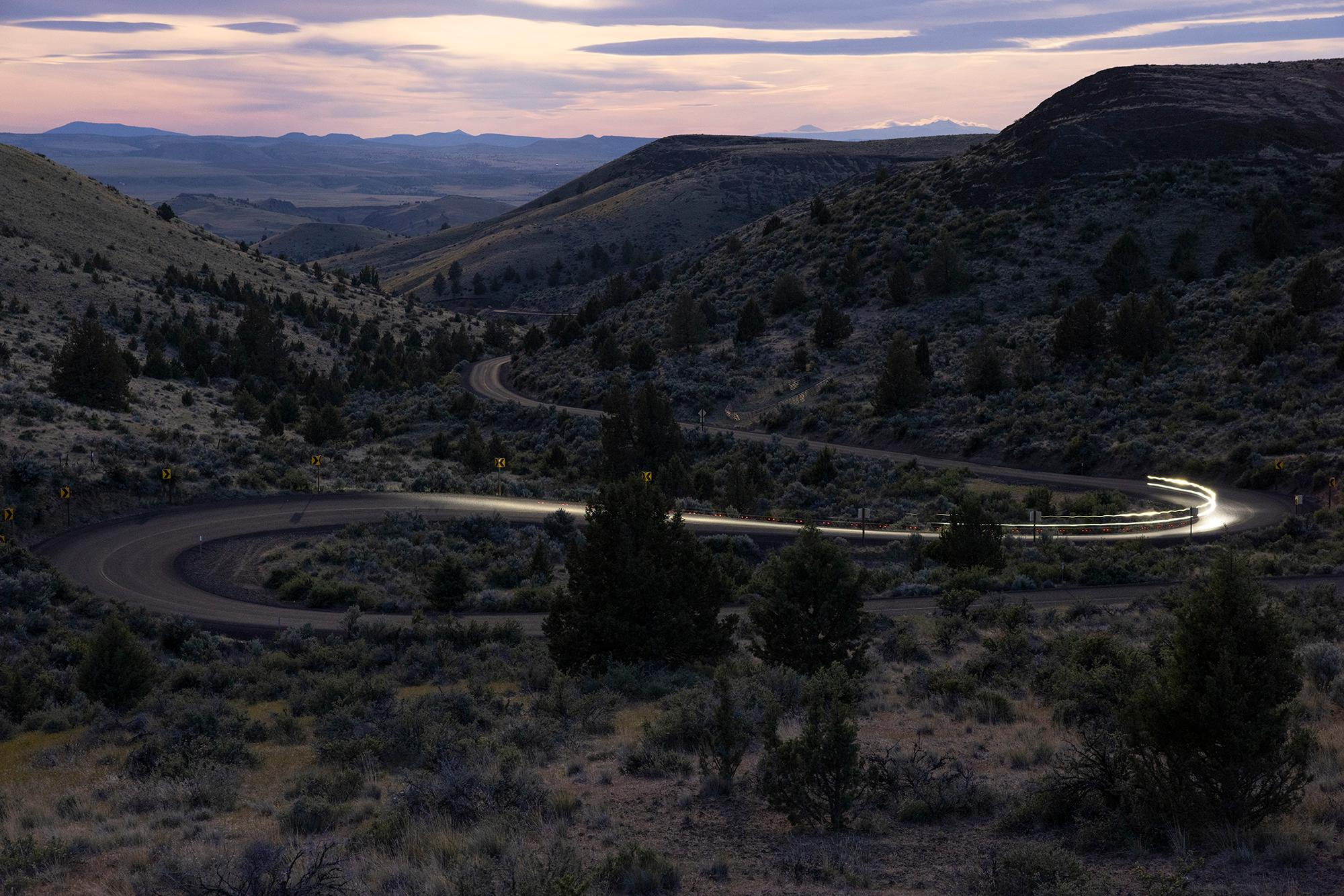 Antelope Hill at sunrise. (Rugile Kaladyte)