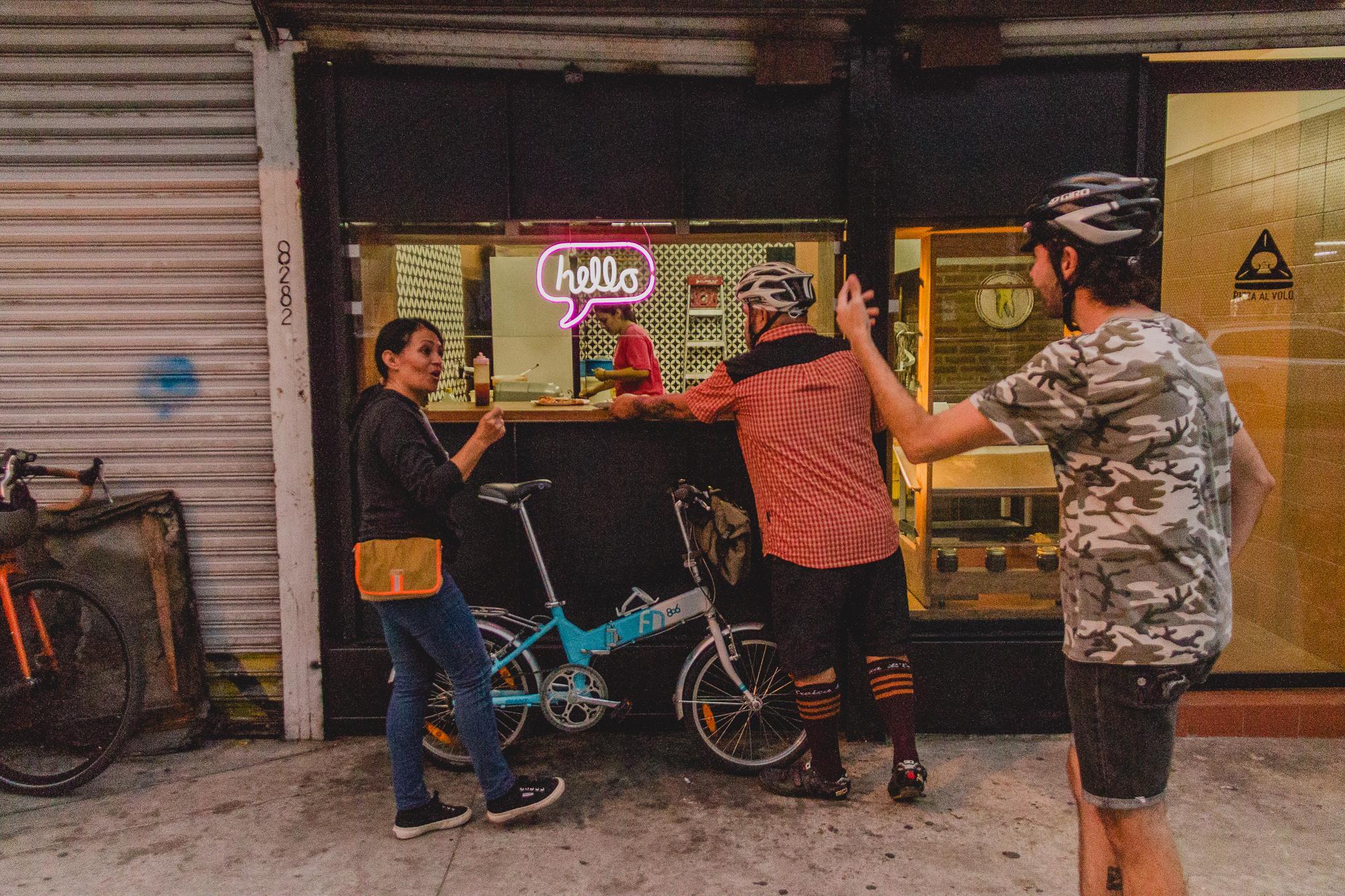 19. Hungry cyclists_