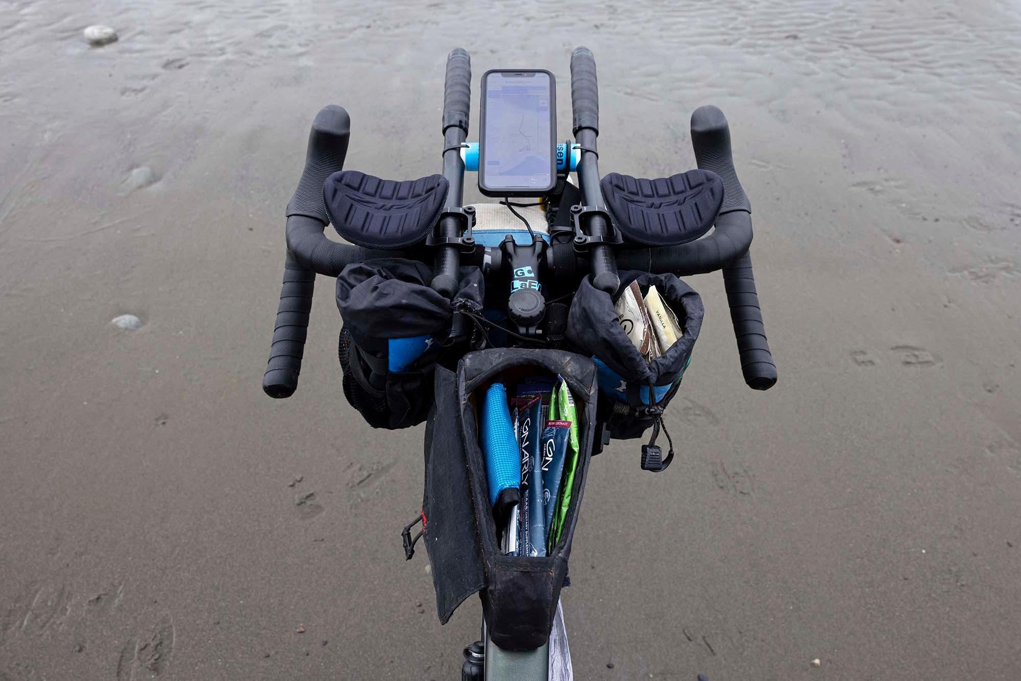 2021 July — Alaska Pipeline FKT — Bike and Gear 08 small
