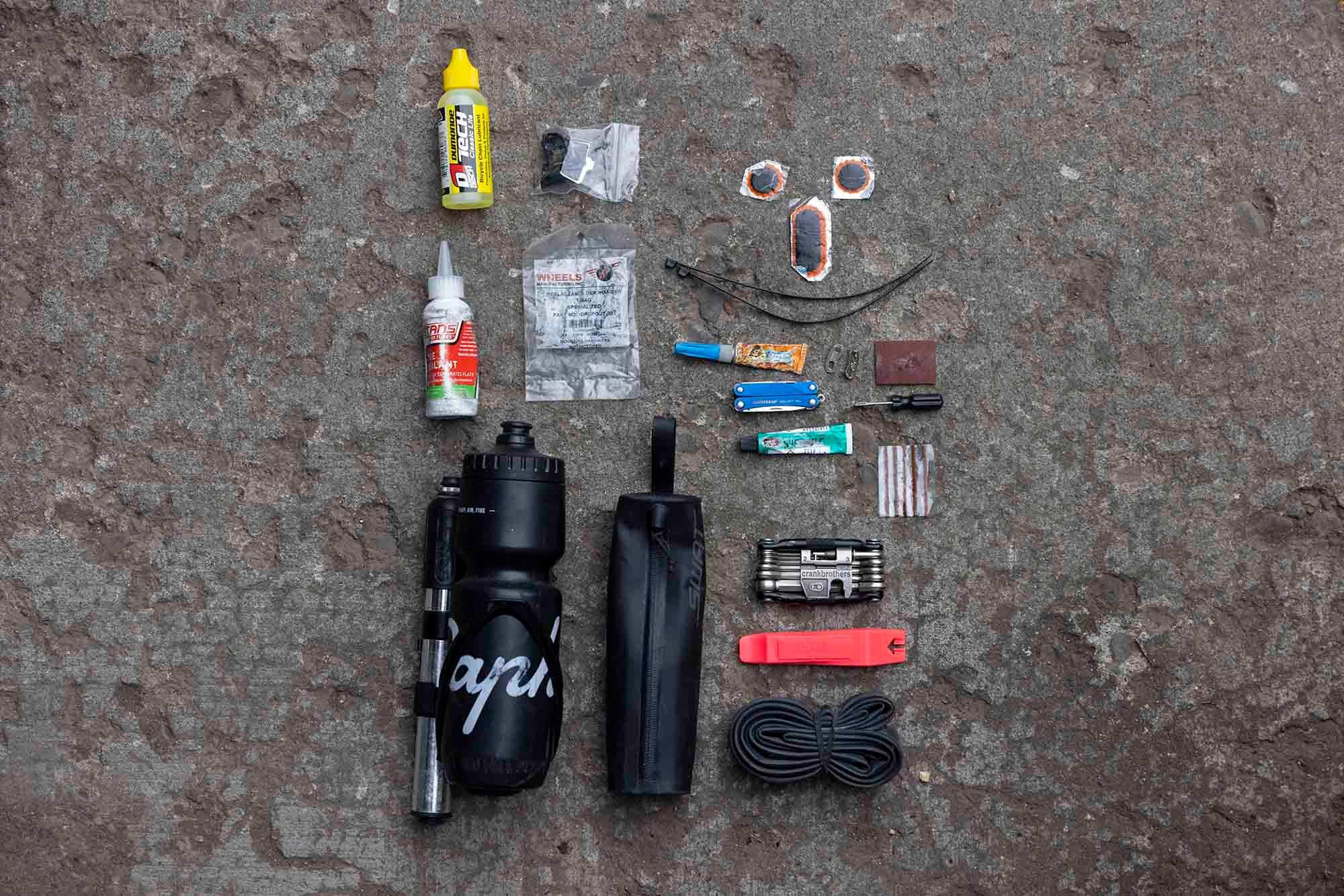 2021 July — Alaska Pipeline FKT — Bike and Gear 14 small
