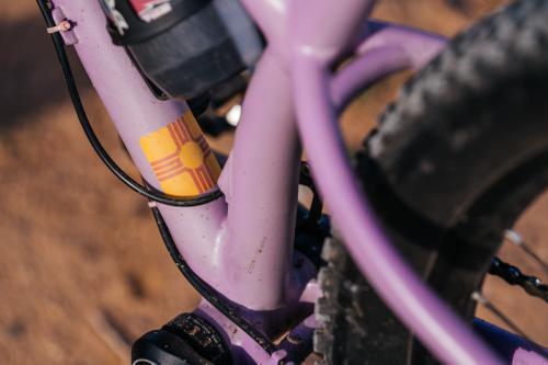 A Pair of Custom O'Leary Built Mountain Bikes