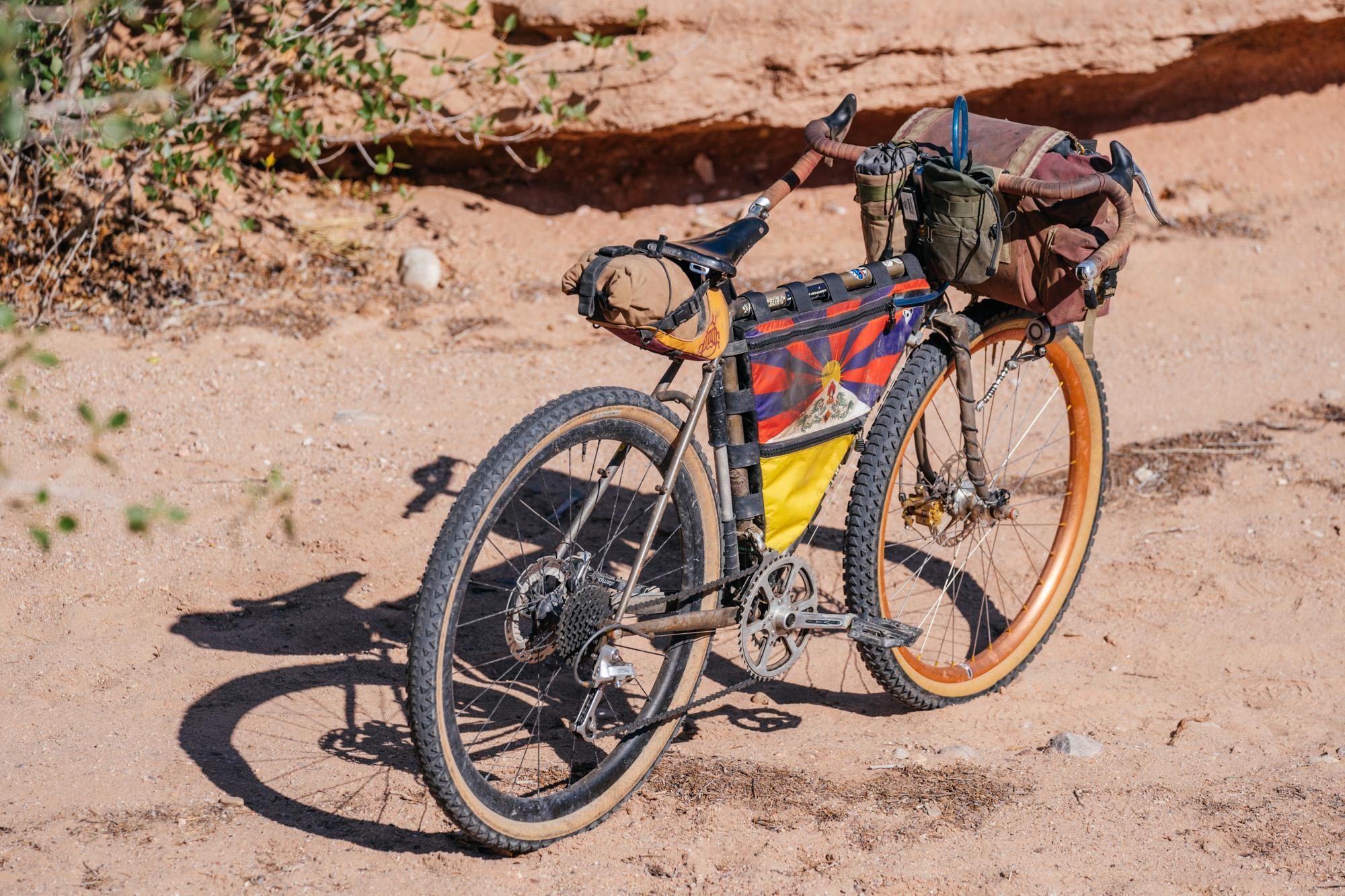 Arya's Tour Divide 2021 Crust Bikes Romanceur Tourer
