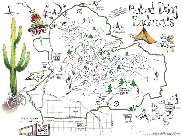 Babad Do'ag Backroads: A Sonoran Desert Sampler Bike Touring Route
