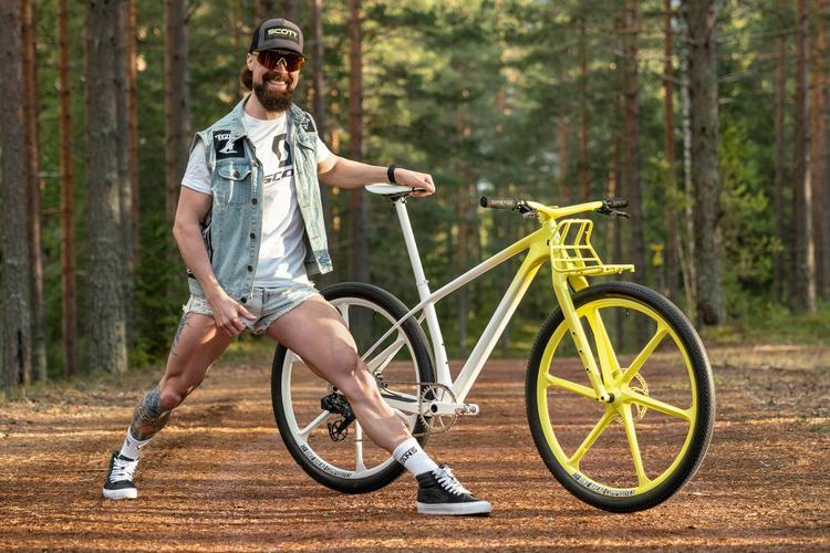 "A Mountain Biker's Gravel Bike: Gustav ""Dangerholm"" and His Scott Scale 910 Rigid Gravel MTB"