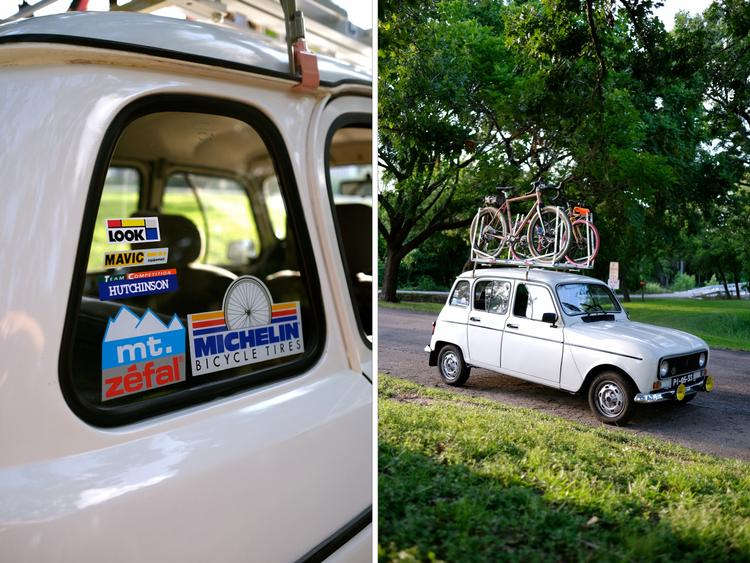 A Tomii Cycles… Roof Rack?