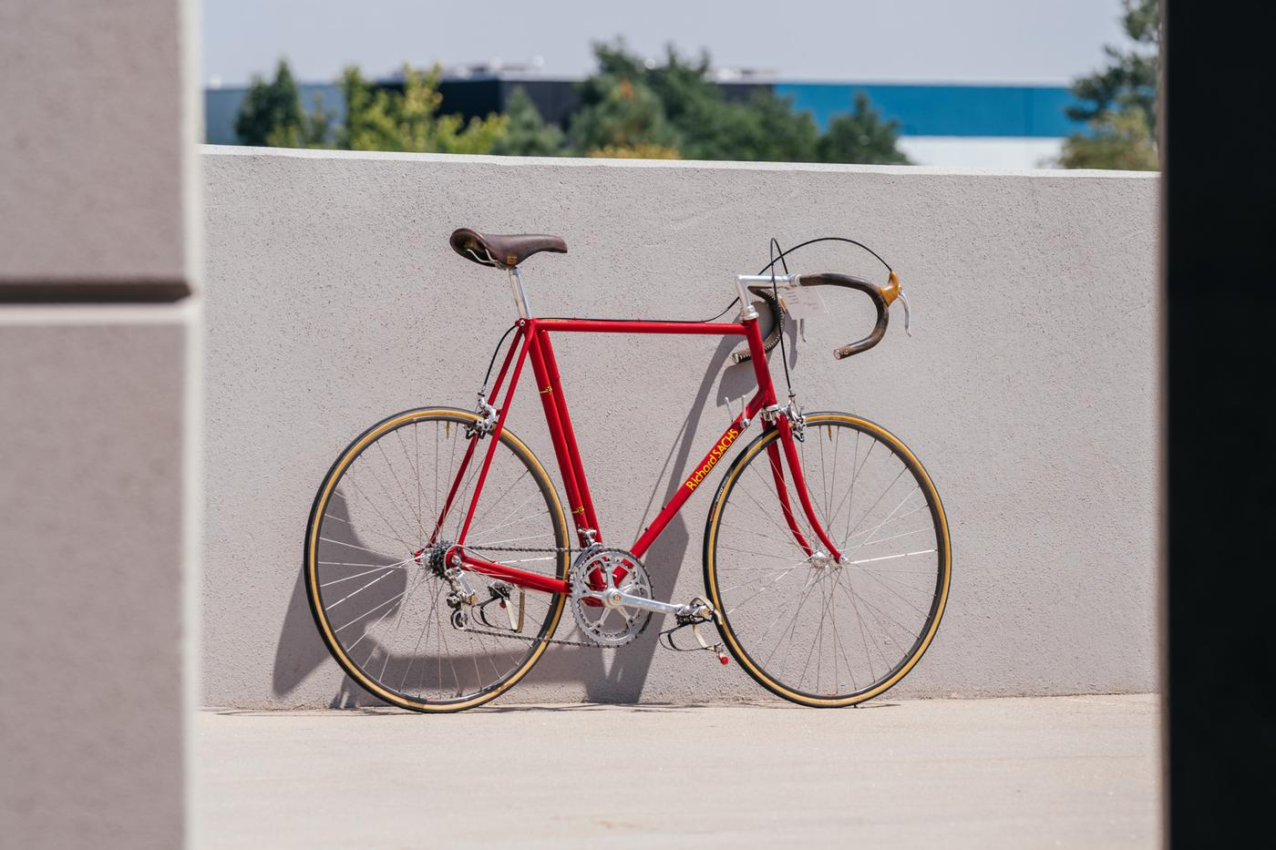 From the Pro's Closet: Richard Sachs Classic Road with Campagnolo 50th Anniversary Super Record Gruppo