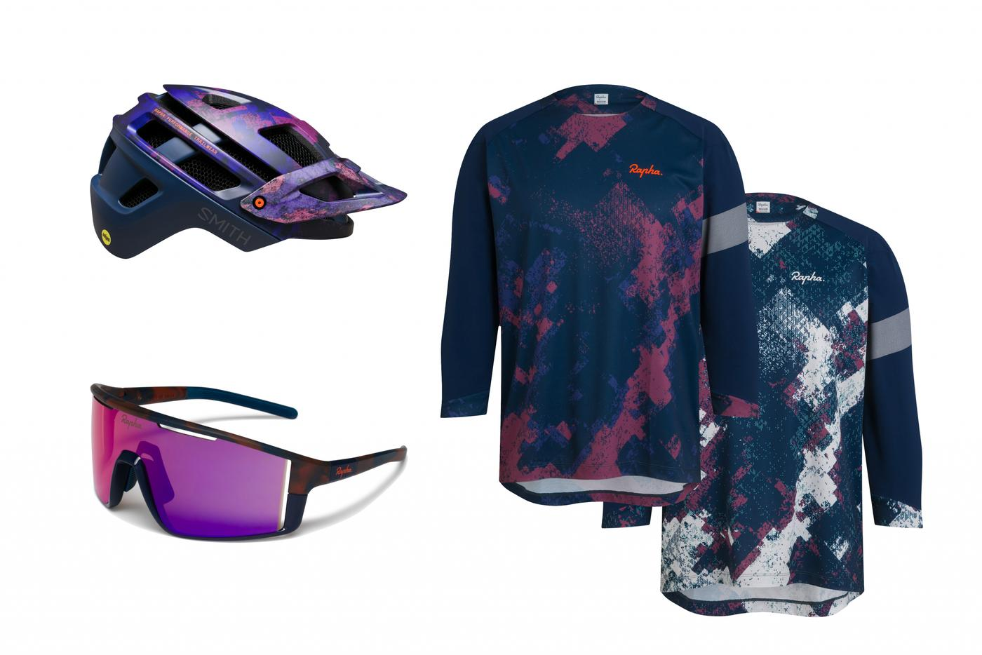 Rapha's MTB Digital Woodland Camo Print Pack is Now Available