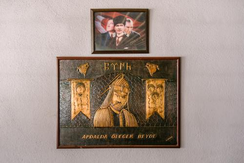 You're never far from a framed Atatürk photo in Turkey.