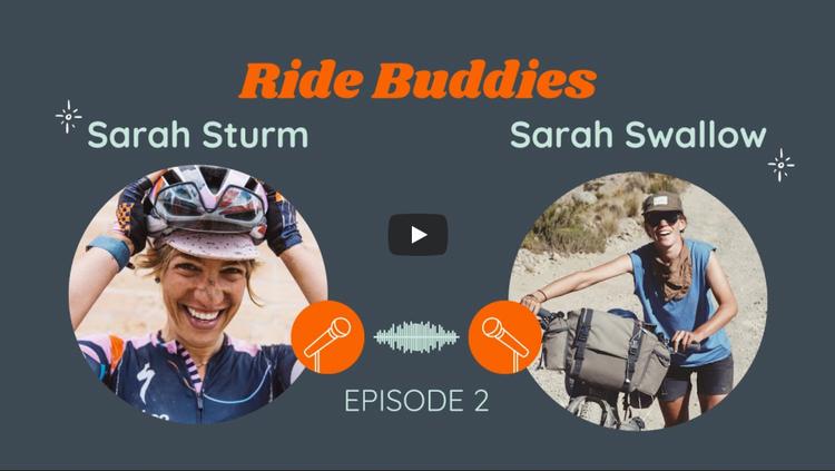 Ride With GPS: Ride Buddies – Episode 2: Sarah Sturm and Sarah Swallow